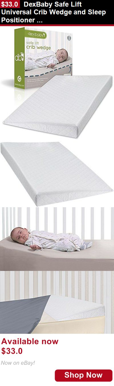 Baby Safety Sleep Positioners: Dexbaby Safe Lift Universal Crib Wedge And Sleep Positioner For Baby Mattress BUY IT NOW ONLY: $33.0