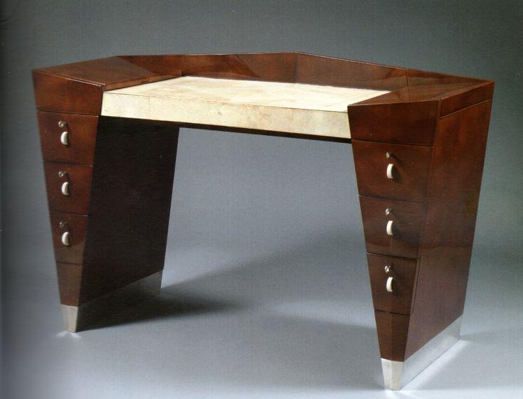 cubism furniture. cubist desk 1930 leon jallot cubism furniture