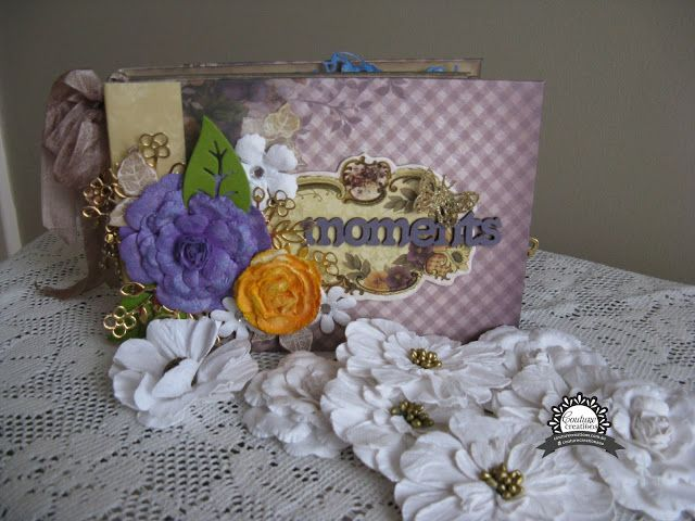 Couture Creations: Moments Mini Album by Jo Simons