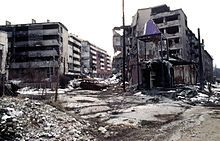 Bosnian War was an international armed conflict that took place in Bosnia and Herzegovina between 1 March 1992 and 14 December 1995. The war involved several factions.