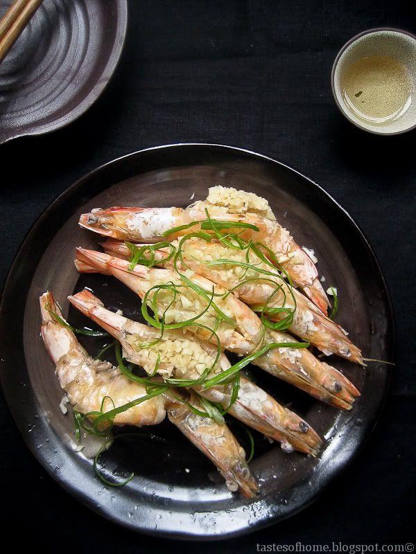 how to make garlic prawns chinese style