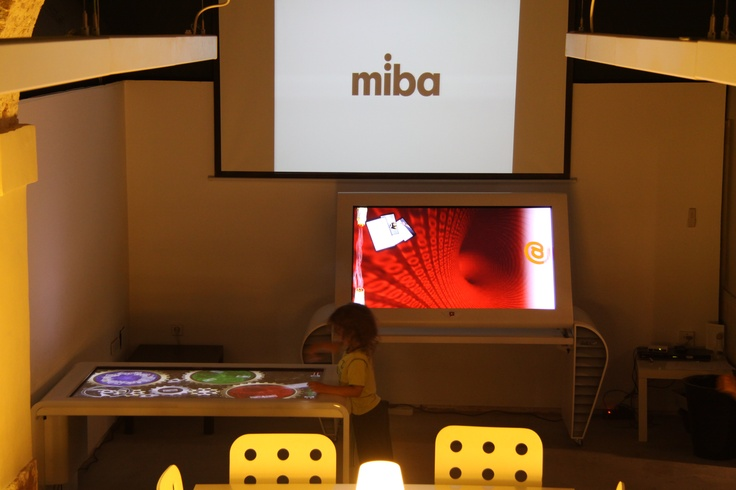 @Digalix multitouch interactive table at #miba