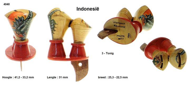 114 - 4040  Indonesië ( 3 - Tonig )