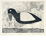 Magpie by Dean Bowen Available from www.cascadeprintrintroom.com.au. We ship worldwide. Laybys and gift vouchers available