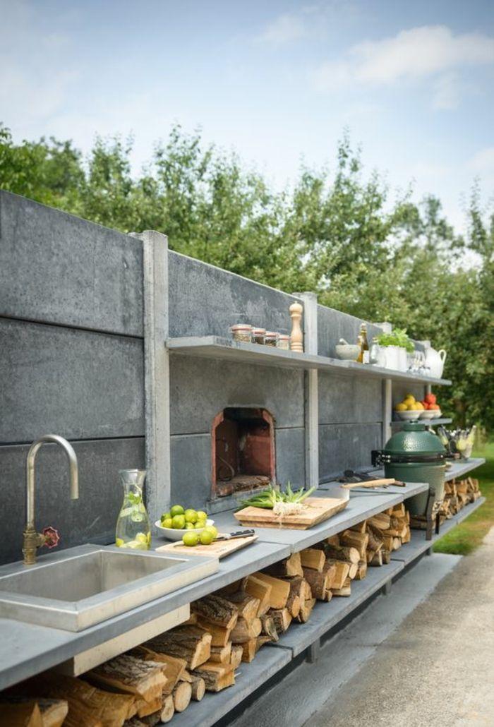▷ 1001 + Ideen für eine Outdoor-Sommerküche   – ArchZine FR
