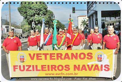 """""""Saco Mucho"""": 208 Aniversário do Corpo de Fuzileiros Navais"""