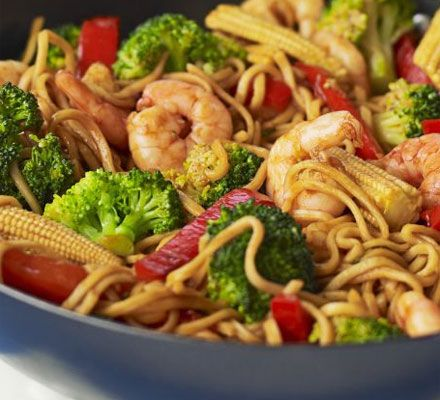 This low-fat stir-fry recipe is packed with crunchy vegetables and tangy oyster sauce.    Don't forget to shop organic ingredients for your recipes at www.farm2kitchen.com