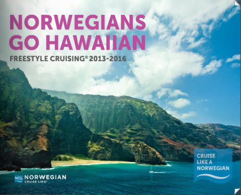 Explore multiple Hawaiian Islands on one vacation, with a Norwegian Cruise! Check out Norwegians Hawaiian brochure!