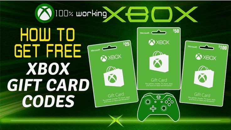 25 dollar xbox gift card code generator