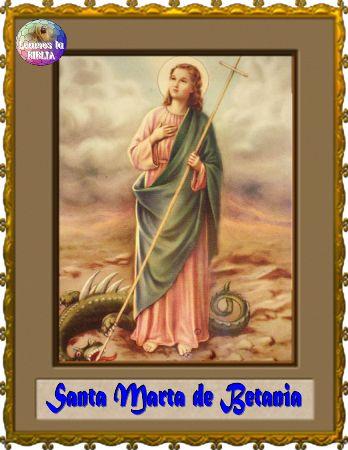 Leamos la BIBLIA: Santa Marta de Betania