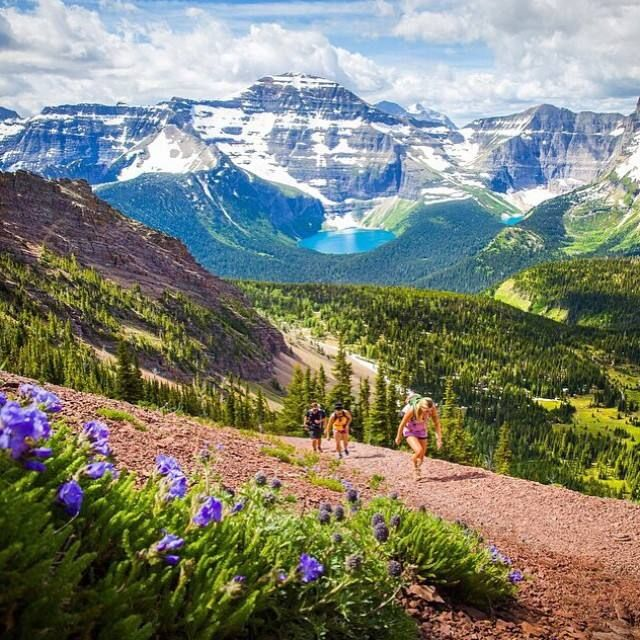 Carthew-Alderson trail, Waterton Lakes National Park. Photo by Taylor Burk | @taylormichaelburk on Instagram