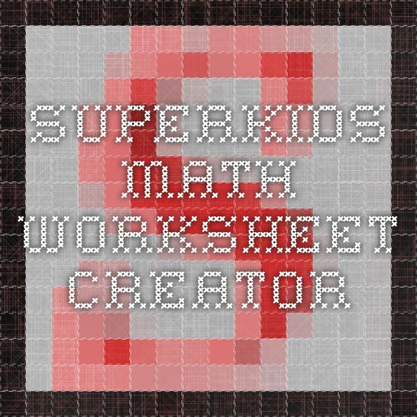math worksheet : superkids math worksheet creator  superkids math worksheet  : Superkids Math Worksheet Answers