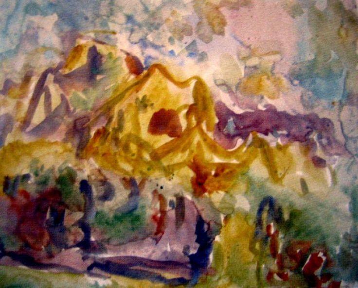 Works on Paper - Mountford Tosswill (Toss) Woollaston - Page 5 - Australian Art Auction Records