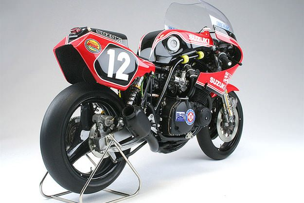 Yoshimura GS1000R scale model motorcycle