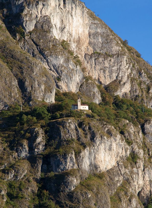 "San Martino is a small church perched on the mountain side above Griante. Its official name is ""Santuario Della Madonna delle Grazie di San Martino"", but most everyone simply refers to it as San Martino. The hike, or more appropriately walk, to San Martino is relatively short at about 45 minutes up from Griante, or about 1 hour up from the shore of Lake Como. For more Lake Como attractions, restaurants, shopping and places to stay, visit www.explorelakecomo.com."
