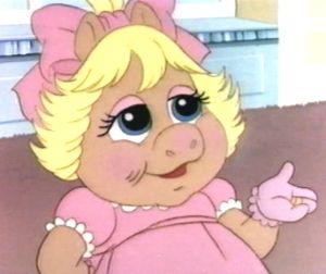 Baby Piggy - Muppet Babies