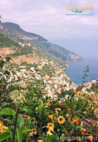 Olasz világörökség | A lenyűgöző Amalfi-part, Képeslap Positánóból | Életszépítők
