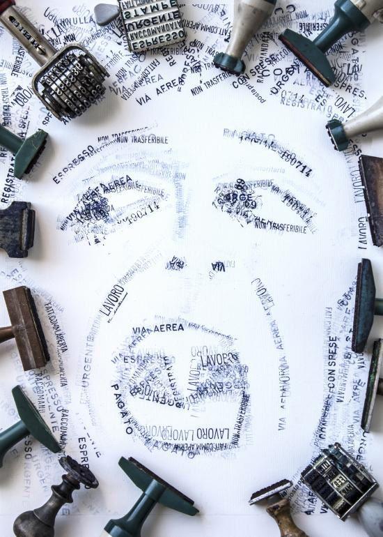 "Poster for Tomorrow 2014 - Sergio Olivotti, ""Burocracy Kills Good Works"", Italy"