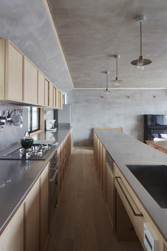 逗子の部屋Room Renovation in Zushi -  Kitchen Ideas 造作キッチン リノベーション