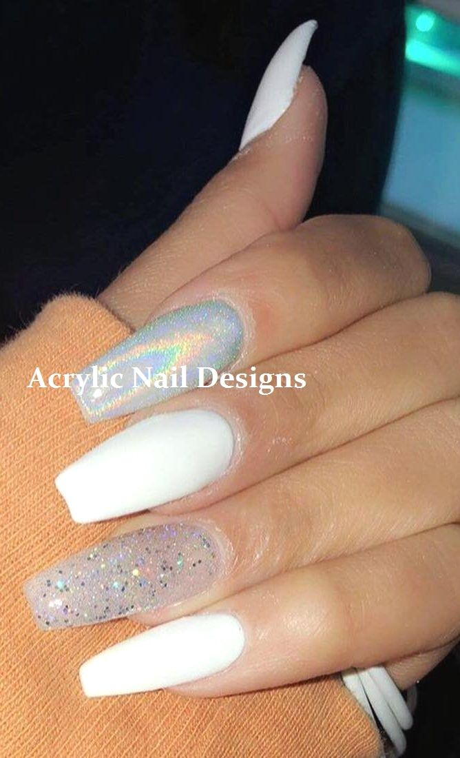 20 TOLLE IDEEN, WIE SIE ACRYLNÄGEL SELBST HERSTELLEN KÖNNEN #naildesigns #nailarts – Acrylic Nail Designs
