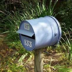 Grease Bucket Letterbox