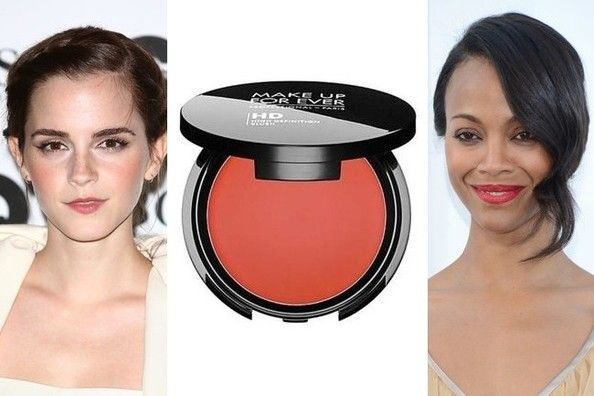 The blush that works on every skin tone (we promise)   Make Up For Ever HD Blush in 410, $26, Make Up For Ever boutiques, Sephora.com. February 2014