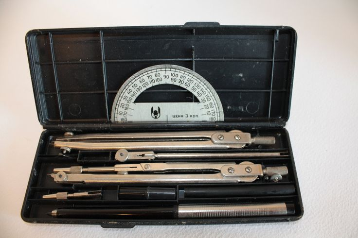 Vintage drawing tools A set of tools for sketching by AirDream