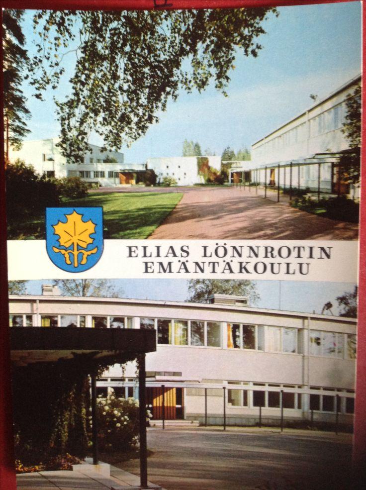 SAMMATTI Suomi Finland Elias Lönnrotin emäntäkoulu