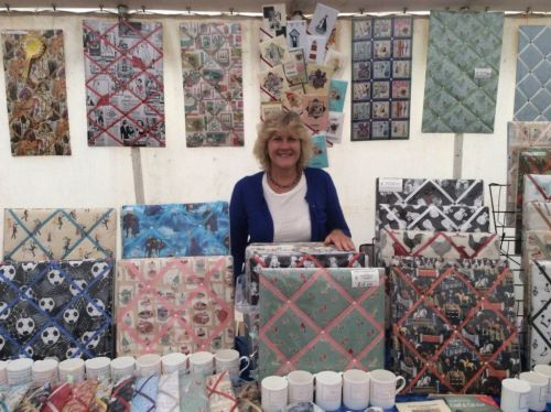 We are delighted to welcome Helen of Helen's Homecrafts to our workshop to demonstrate just how she creates her stunning memo boards. This is a new course that we are really looking forward to. Space is limited so book early to avoid disappointment!