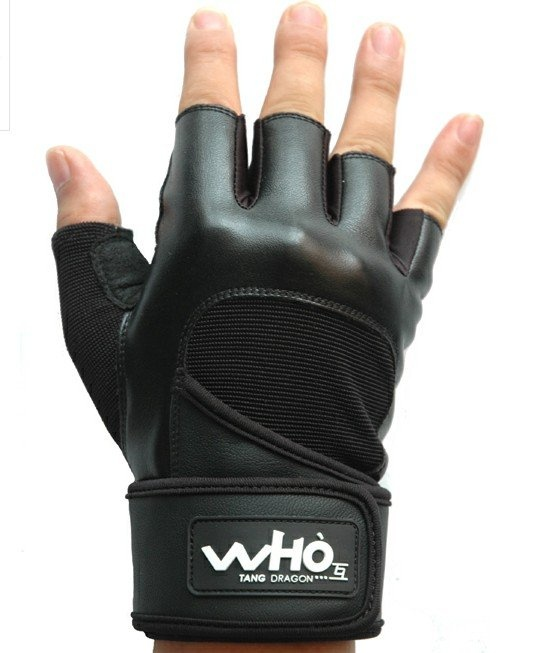 WHO 4 color High Quality PU Fitness Cycling Sports Gym Weight Lifting Gloves with long wrist protect Durable Non-slip on AliExpress.com. 5% off $15.96