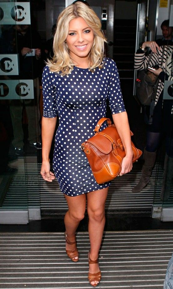 Mollie King. THAT DRESS.