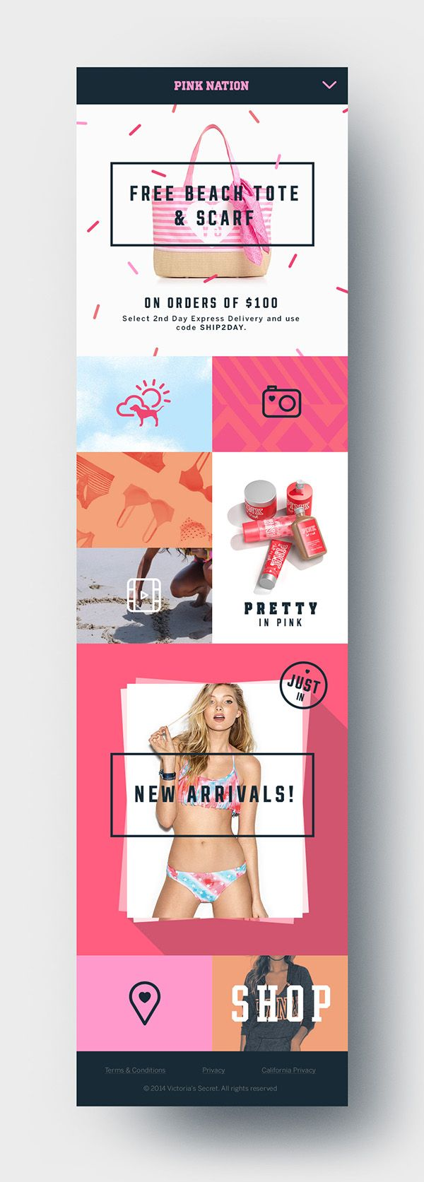 Pink Nation App on Behance
