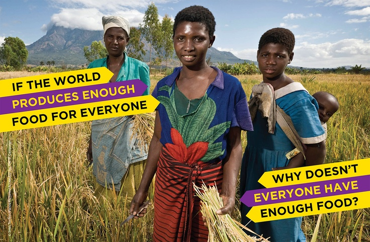 The world produces enough food for everyone, but not everyone has enough.     Hunger kills more people than AIDS, malaria and tuberculosis combined and two million children die each year because of malnutrition.    We're supporting the IF campaign to bring an end to this scandal and to make sure that everyone has enough food to live. And we need you to join us by signing this petition. https://www.oxfamireland.org/getinvolved/if #IF #GlobalDev #Oxfam