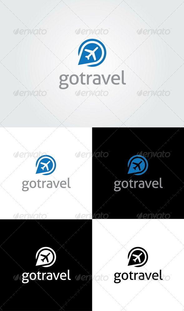 Go Travel Logo Template - GraphicRiver Item for Sale