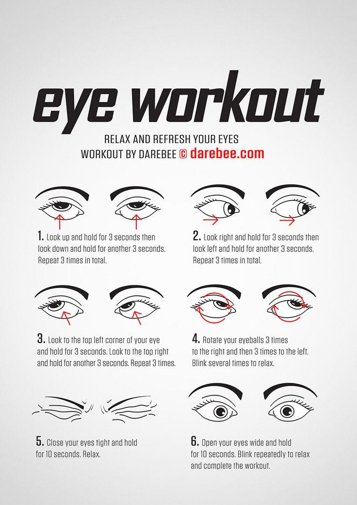 NEW: Eye Workout #darebee #workout #fitness