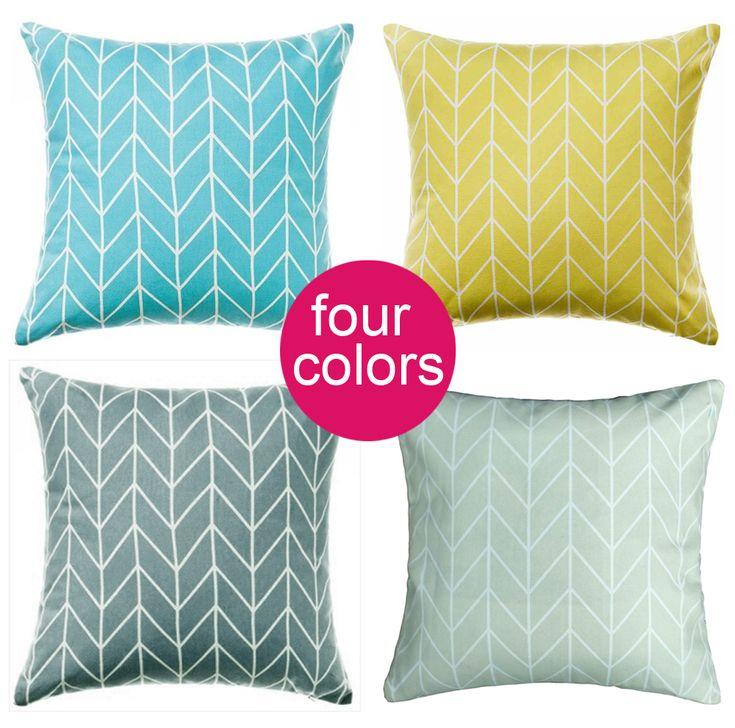 Geometric square Pillowcase Pillow Cushions Yellow, Blue,Grey modern Home Decoration Super soft velvet Pillow Cover Sofa Cushion