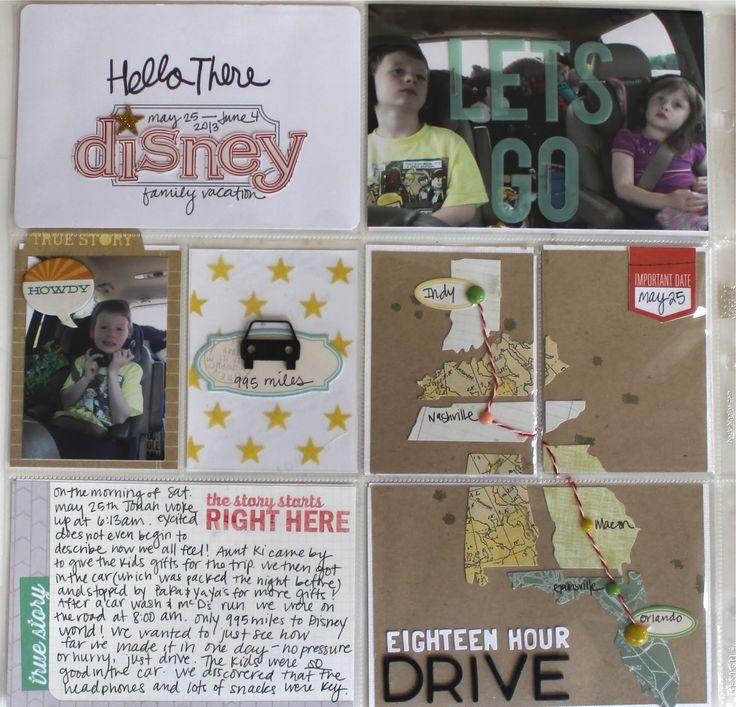 Elle's Studio: Project Life: Vacation road trip