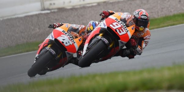 Marquez makes it 9 from 9 with Pedrosa completing Honda domination {PR} | Potret Bikers.com