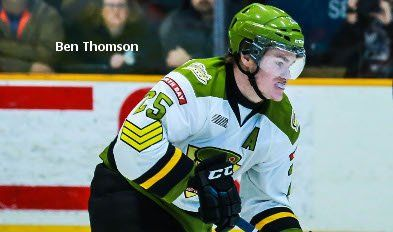 Left winger Ben Thomson of the North Bay Battalion has signed a three-year entry-level contract with the New Jersey Devils of the National Hockey League, it was announced Friday. New Jersey chose Thomson in the fourth round, 96th overall, of the 2012 NHL Draft from the Kitchener Rangers. He was acquired by the Battalion last Nov. 22 in a trade for left winger Brandon Robinson.