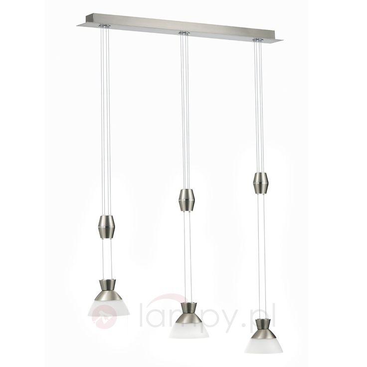 Nowoczesna lampa wisząca LED CELKA, 2-punktowa 7610045X