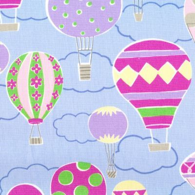 Isso+Rcco+Teepee+Hot+Air+Balloons+Powder+Blue