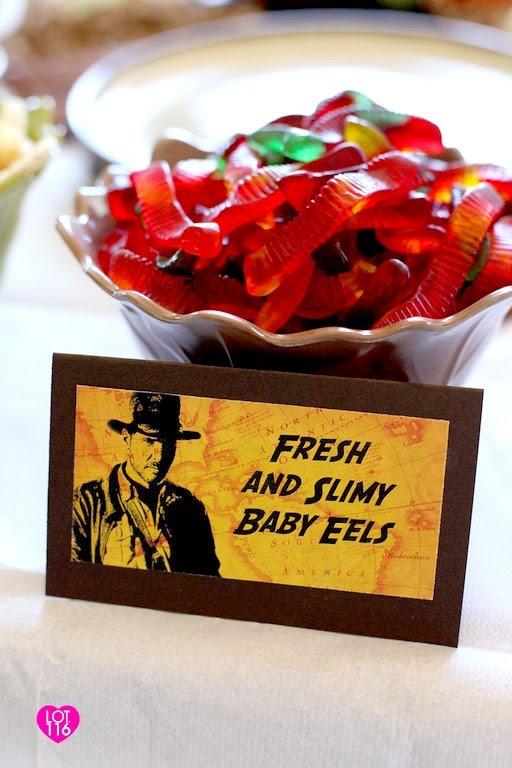 Indiana Jones Party food