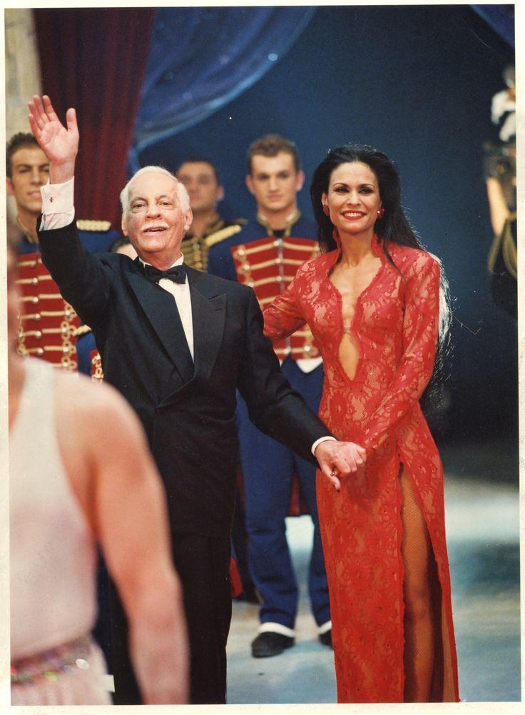 Regina Bouglione et Michel Serrault  © Cirque d'Hiver Bouglione