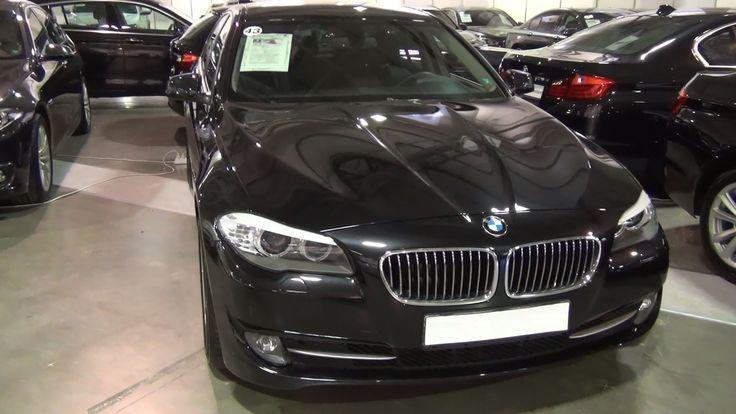 BMW 525d xDrive Sedan Black Sapphire (2013)