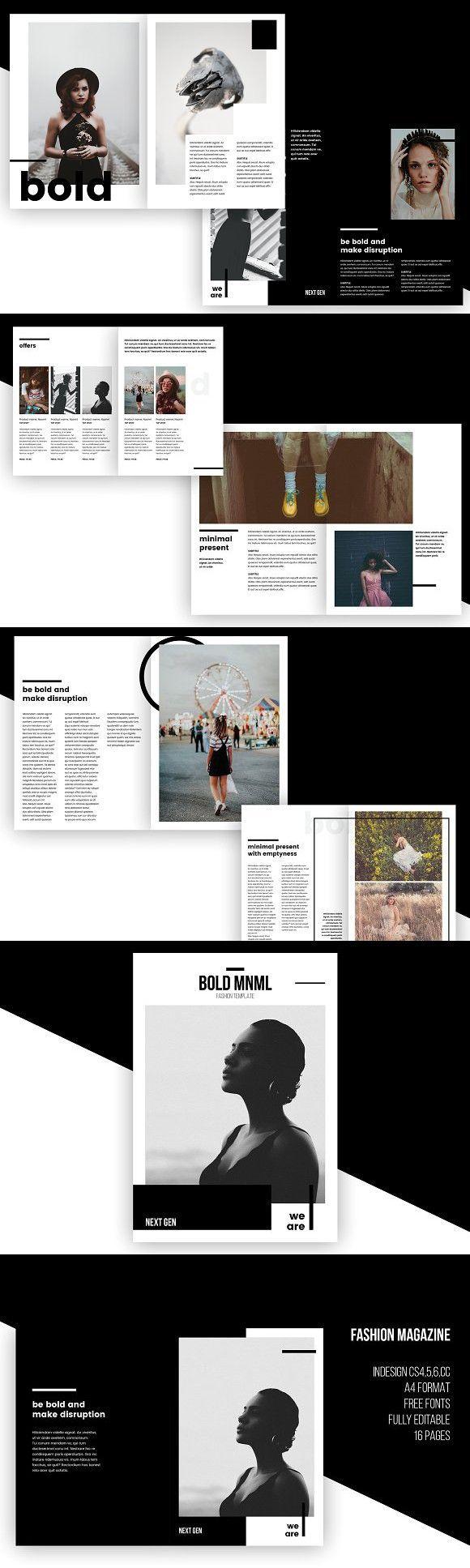 Fashion Magazine - InDesign Template