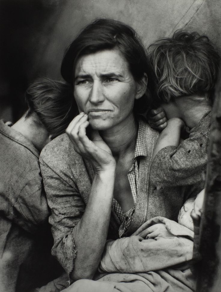 Migrant mother, 1936 - by Dorothea Lange (1895-1965), USA