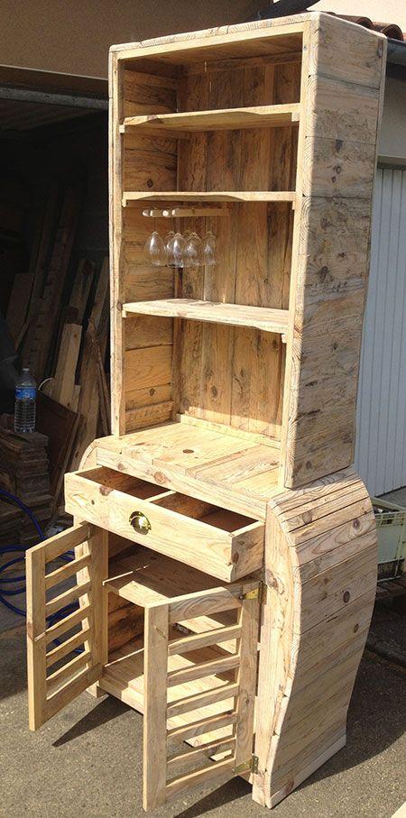 projeto de bar pallets