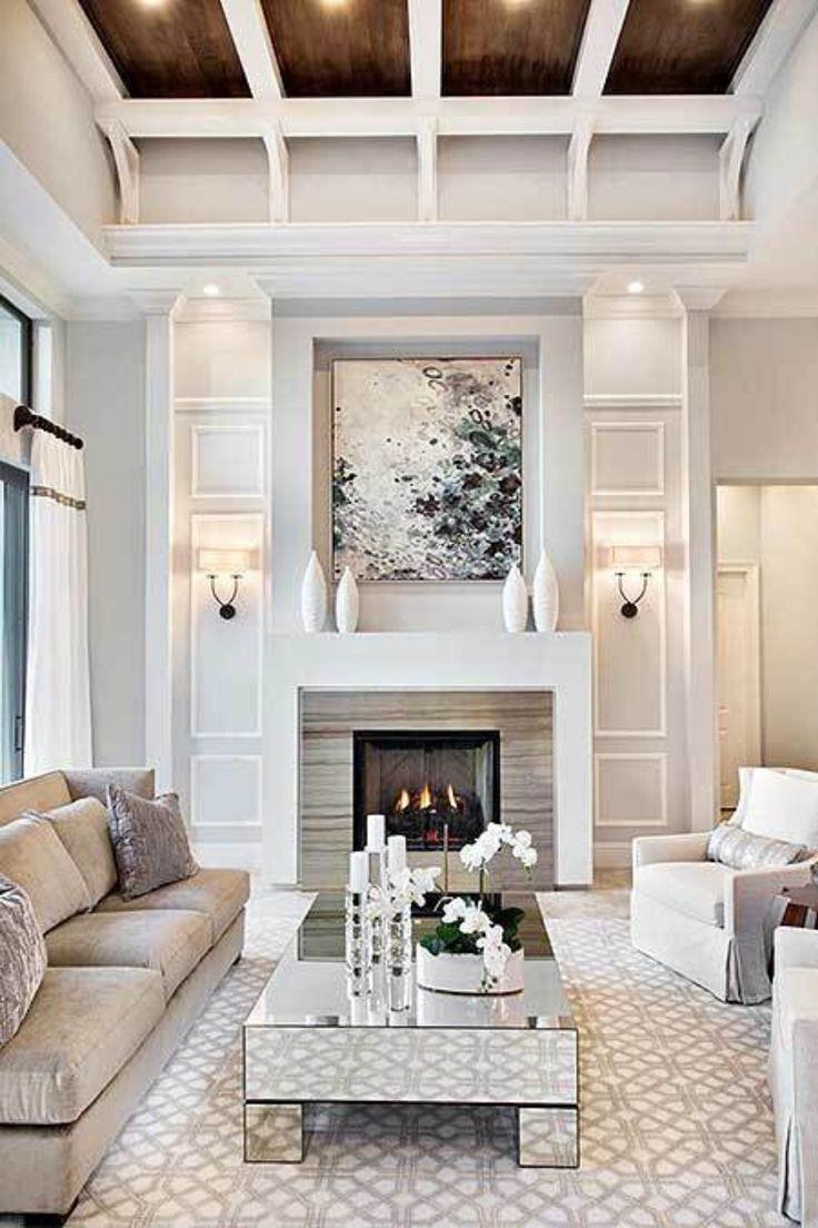 Classy Living Room Design Inside The Super Luxur