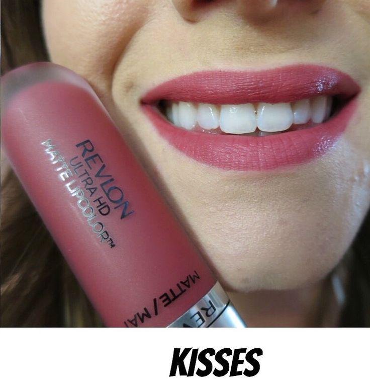 Revlon Ultra HD Matte Lip Color Kisses