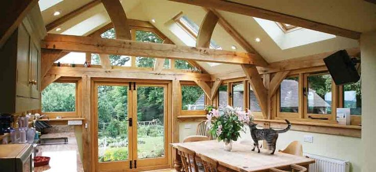 Oak Garden Room Interior